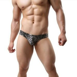 Other - NEW! Black Leopard Briefs